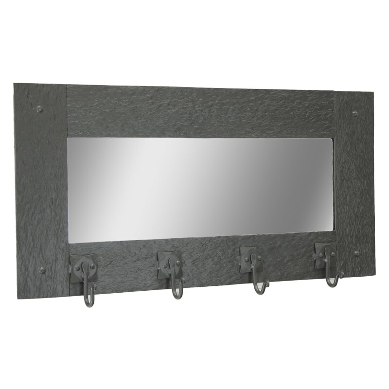 stone county ironworks cedarvale wall mirror coat rack. Black Bedroom Furniture Sets. Home Design Ideas