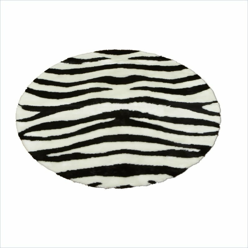 Walk On Me Animal Zebra Bold Striped Area Rug & Reviews