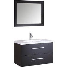 """32"""" Single Vanity Set with Mirror"""