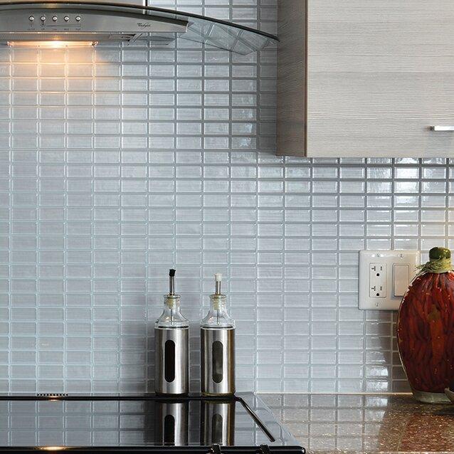 Smart Tiles Mosaik Stainless 10 61 Quot X 10 Quot Peel Amp Stick