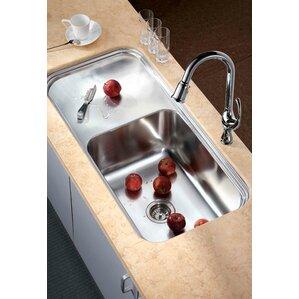 41 38 X 19 75 Under Mount Single Bowl Kitchen Sink