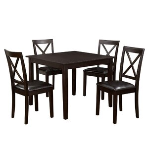 annmarie 5 piece counter height dining set. beautiful ideas. Home Design Ideas