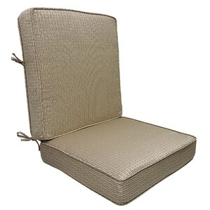 Mathilde Rattan Outdoor Lounge Chair Cushion
