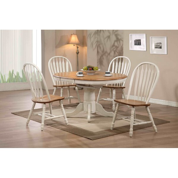 loon peak clarno extendable dining table & reviews | wayfair