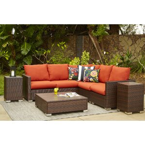 Elegant Ellie Sectional With Cushions