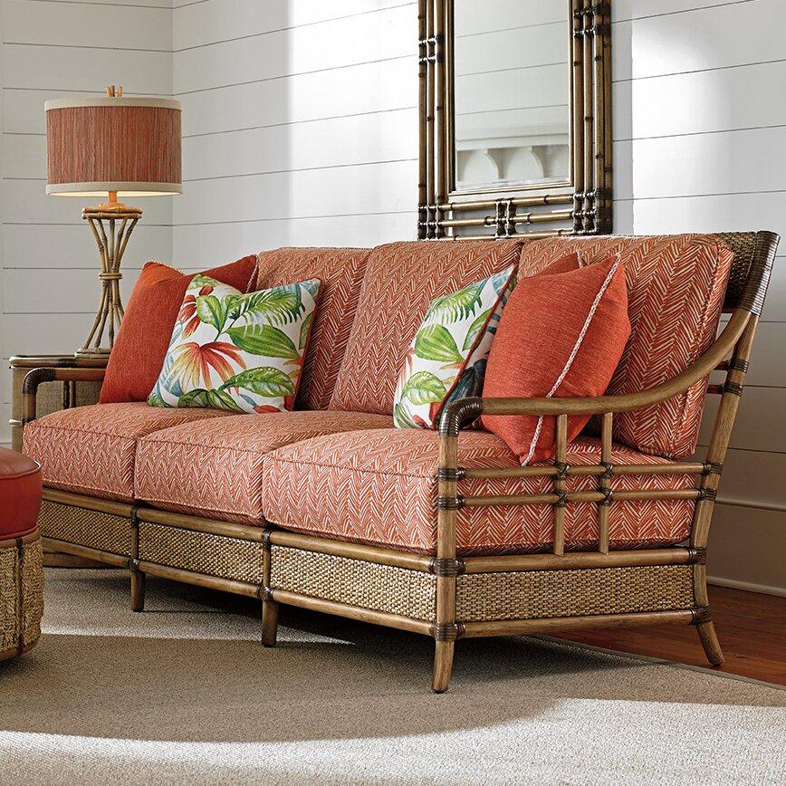 Tommy Bahama Home Twin Palms Sofa Wayfair