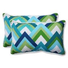 Delightful Indoor/Outdoor Lumbar Pillow (Set Of 2)