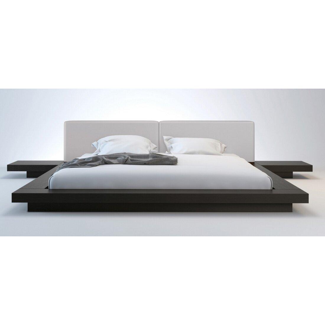 Nightstands for platform beds - Sloan Upholstered Platform Bed