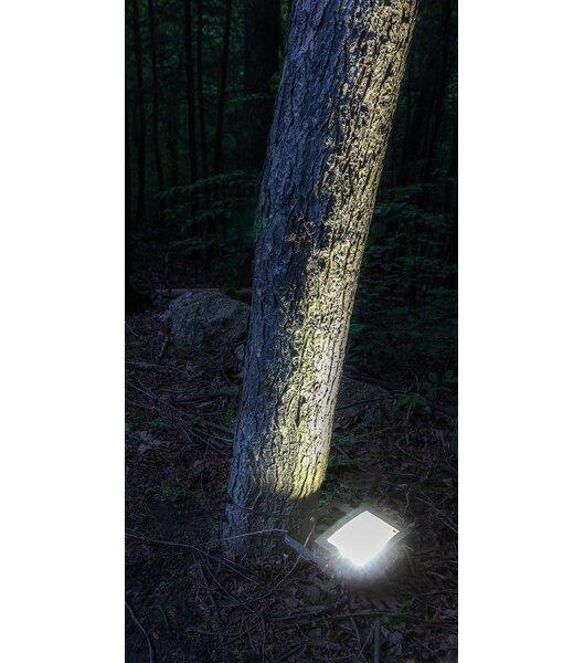 Maxsa Solar Dusk Until Dawn 12 Light Led Flood Light