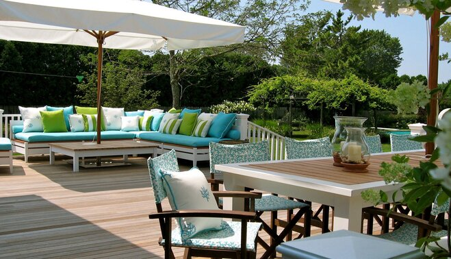 How to decorate your deck where to begin wayfair for Kimberly hall creative interior design