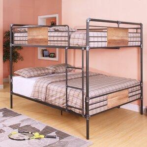 brantley queen over queen bunk bed - Loft Bed Frame Queen