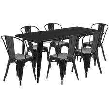 modern black dining room sets | allmodern