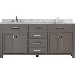 Darby Home Co Fran 72 Double Sink Bathroom Vanity Set Reviews