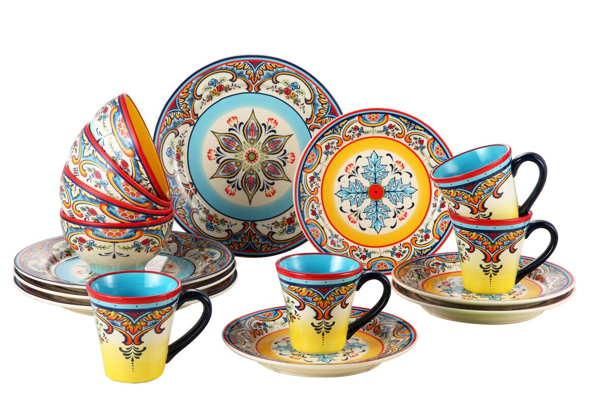 dinnerware sets you'll love  wayfair - zanzibar  piece dinnerware set service for
