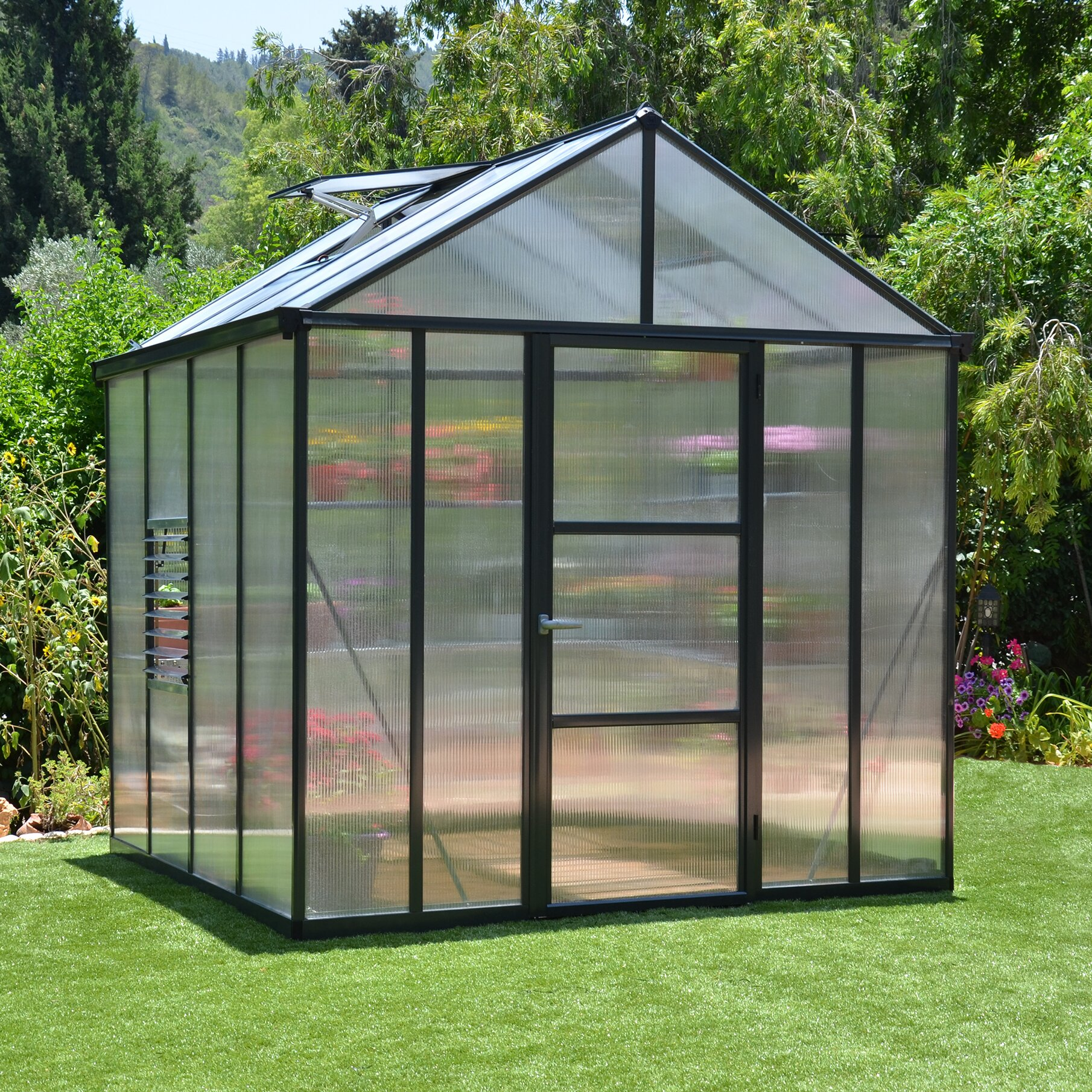 The greenhouse dallas tx - Glory 8 Ft W X 8 Ft D Greenhouse