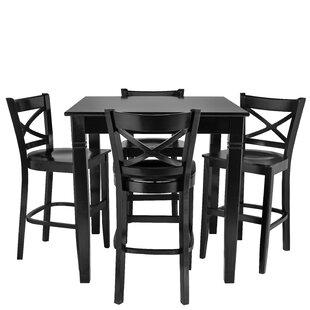 Weisinger 5 Piece Pub Table Set