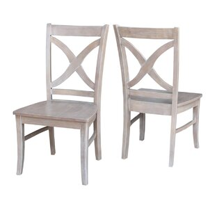 Beuvron Solid Wood Dining Chair (Set of 2..