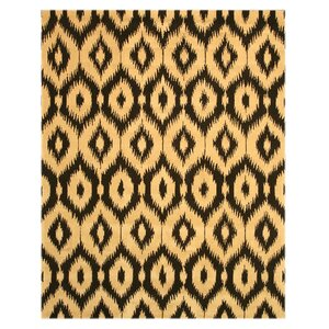 Logsden Black/Gold Area Rug