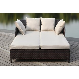 Double Patio Chaise Lounge Chairs