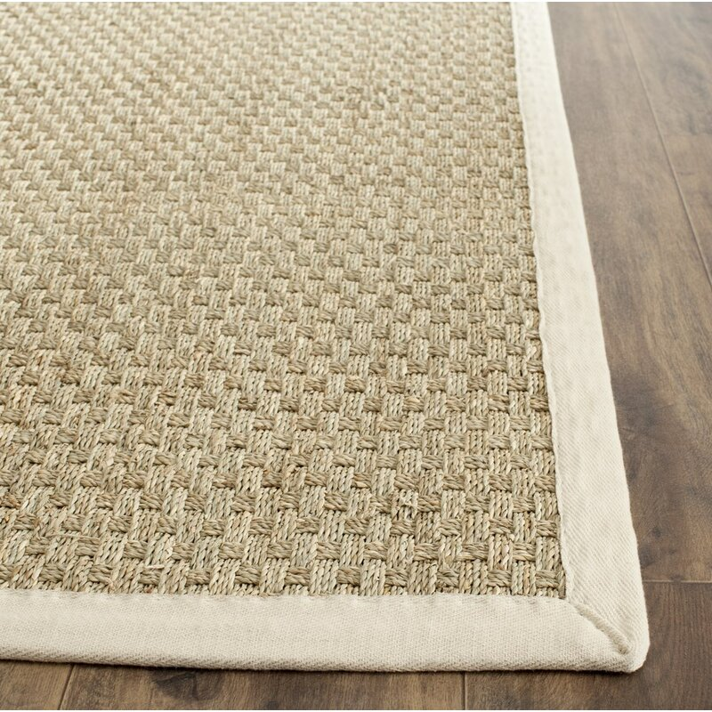 Natural Bathroom Rugs: Alcott Hill Catherine Natural/Ivory Area Rug & Reviews