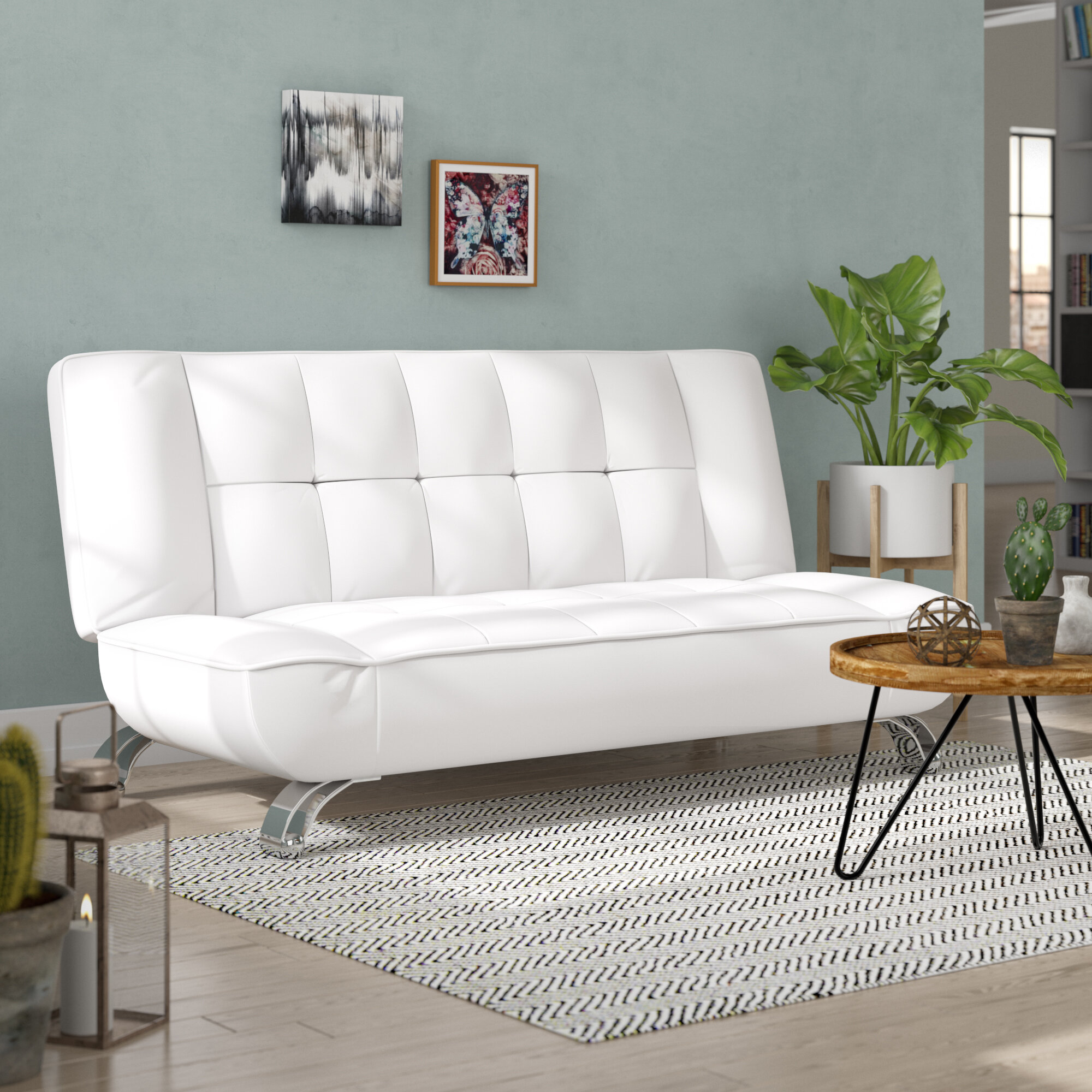 Orren Ellis Barresi 3 Seater Clic Clac Sofa Bed Reviews Wayfair Co Uk