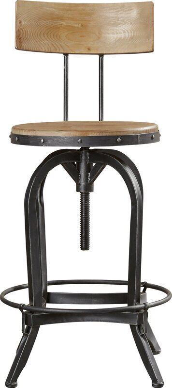 Oria Adjustable Height Swivel Bar Stool Amp Reviews Joss
