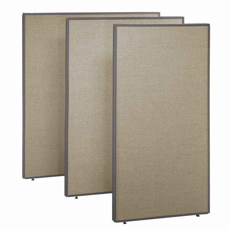 Bush Business Furniture ProPanel Extra Tall Privacy 1 Panel Room
