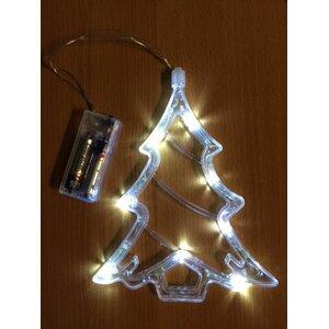 LED Battery Operated Christmas Tree Window Light