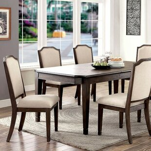 Roesch 6 Piece Solid Wood Dining Set