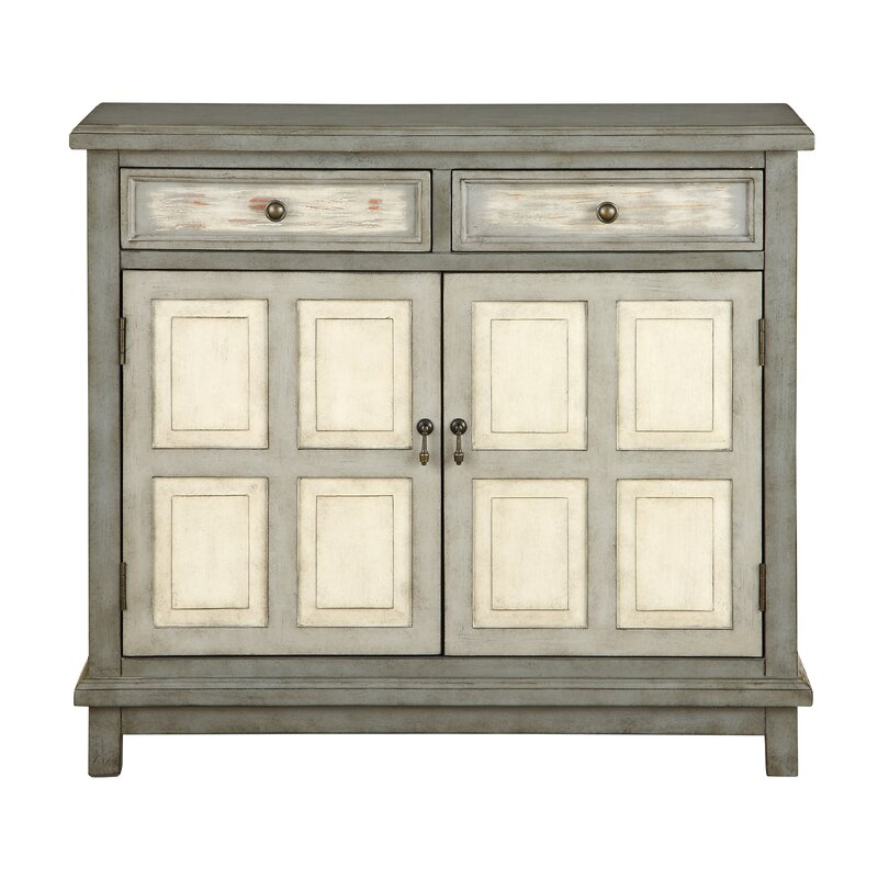 August Grove Gattilier 2 Drawer 2 Door Cabinet Reviews Wayfair