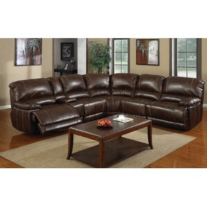 Ethan Reclining Sectional by E-Motion Furnit..