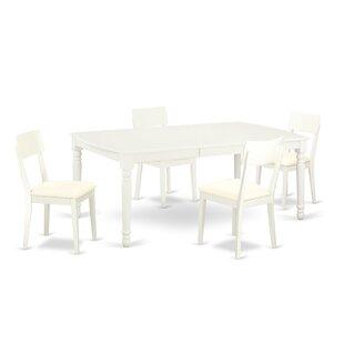 Pimentel 5 Piece Dining Set