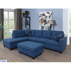 Russ Sectional  sc 1 st  Wayfair : blue sectional sofas - Sectionals, Sofas & Couches