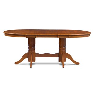 Double Pedestal Oval Kitchen U0026 Dining Tables