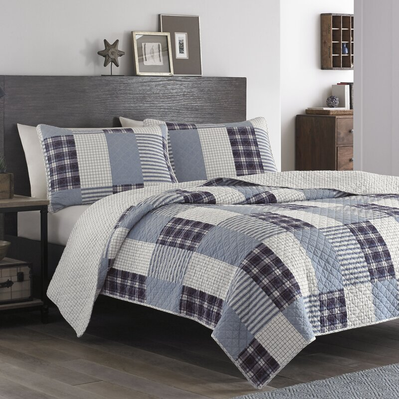 Eddie Bauer Camano Island Reversible Quilt Set Amp Reviews