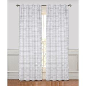 Mattheo Striped Room Darkening Rod Pocket Panel Pair (Set of 2)