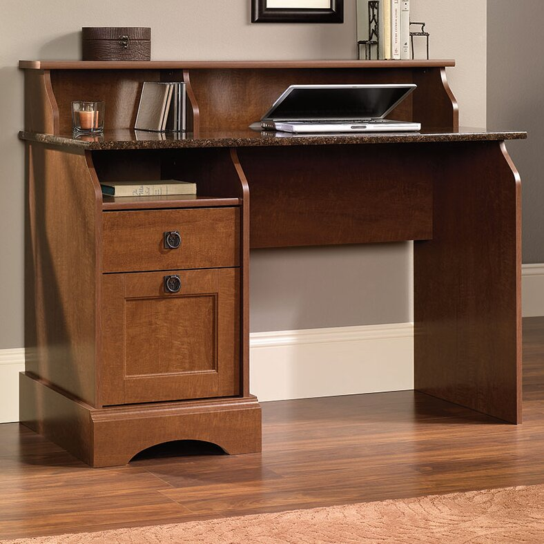 Barker Writing Desk With 2 Storage Drawers