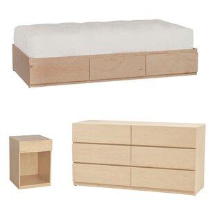 Kareem Platform Configurable Bedroom Set