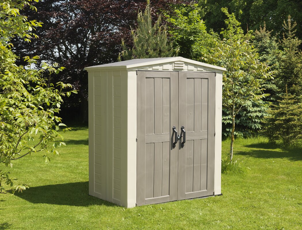 factor 5 ft 10 in w x 3 ft 9 in d - Garden Sheds 5 X 9