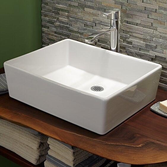 American Standard Cadet Rectangular Vessel Bathroom Sink Reviews Wayfair