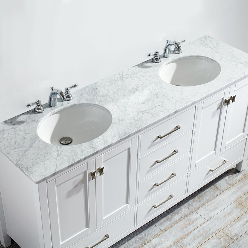 Excellent Newtown 72 Double Bathroom Vanity Set Home Remodeling Inspirations Genioncuboardxyz