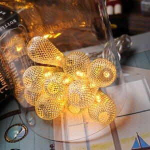 10-Light 5.5ft. Globe String Lights