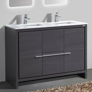 Sinks Amusing 48 Inch Double Sink Vanity Home Depot Double