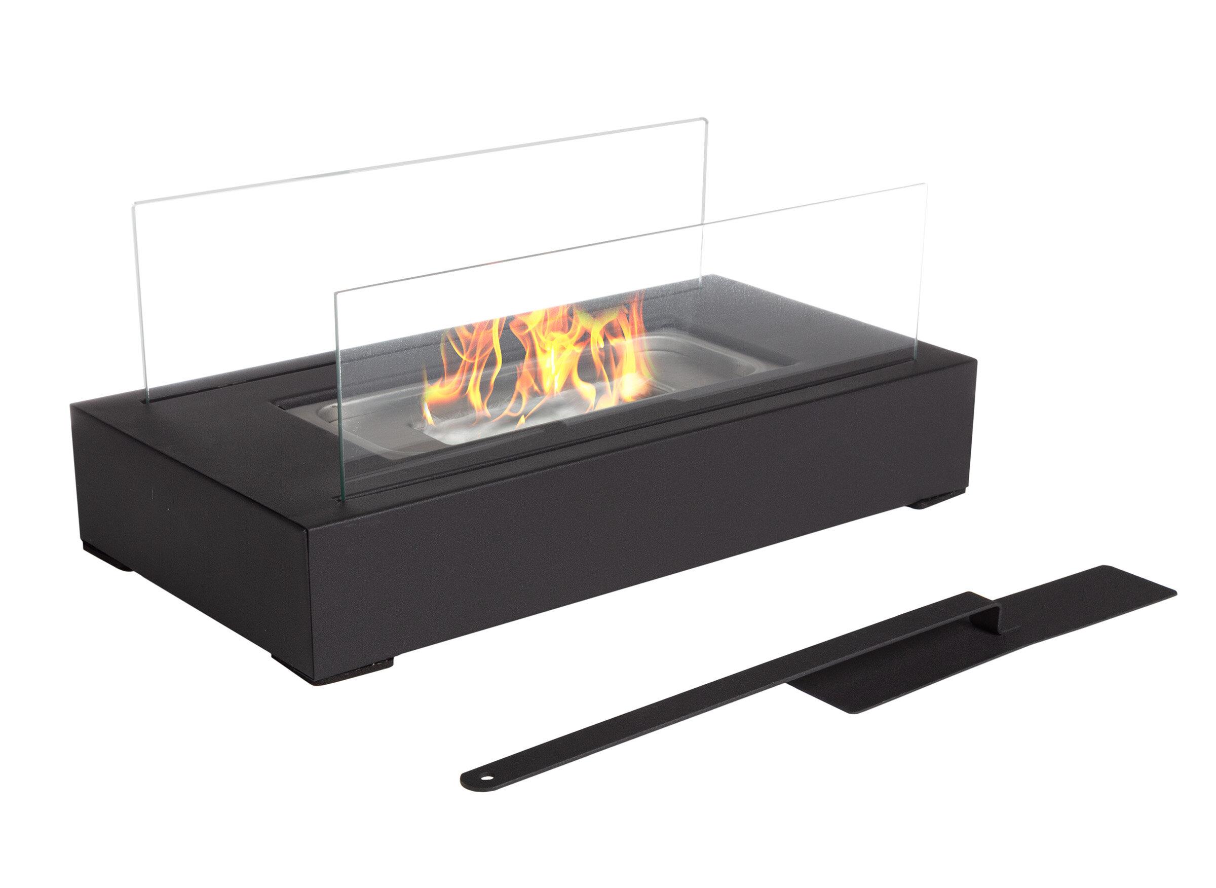 Bio Ethanol Tabletop Fireplace Fuel Ventless Heater Burner Indoor