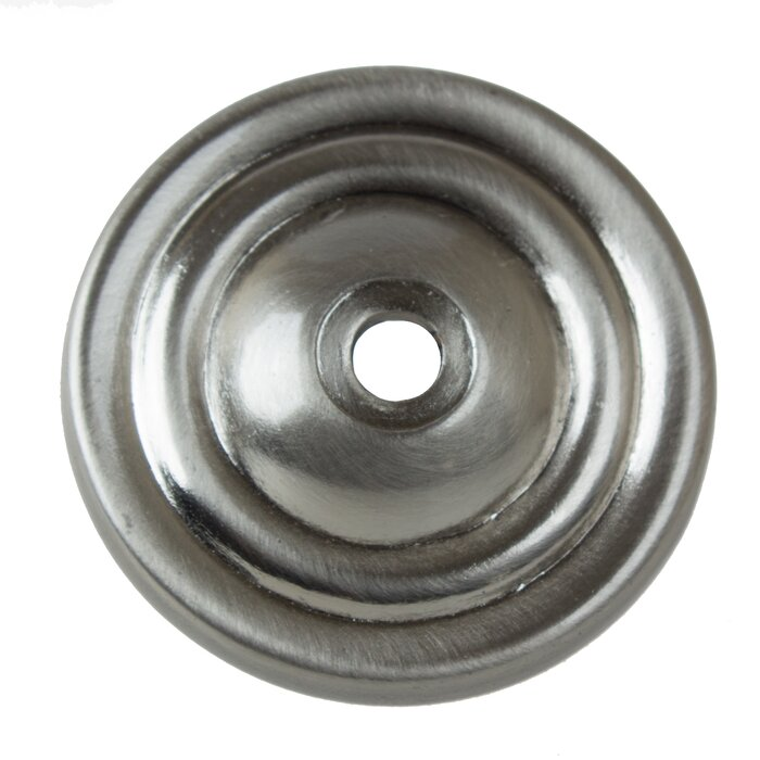 Round Thin Ring Cabinet Knob Backplate