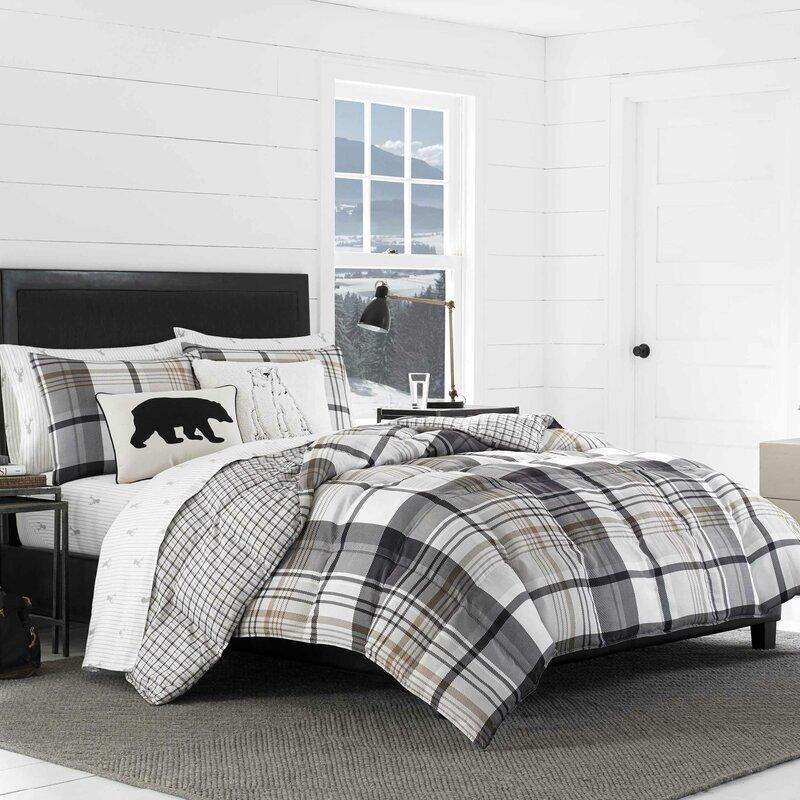 Normandy Plaid Comforter Set Amp Reviews Allmodern