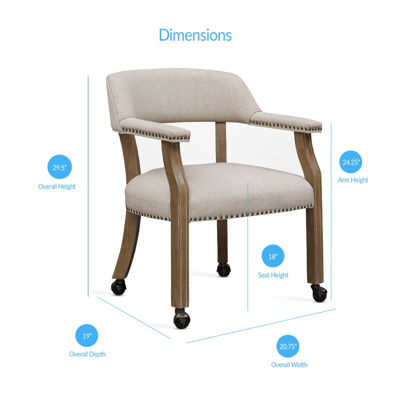 henrietta upholstered dining chair