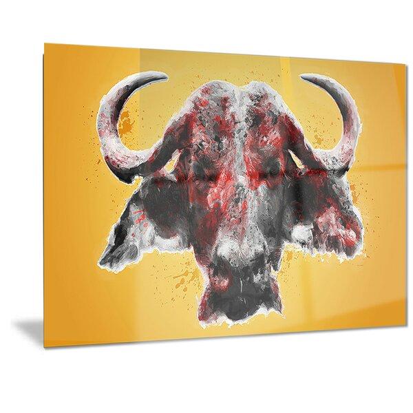 Metal Bull Head | Wayfair