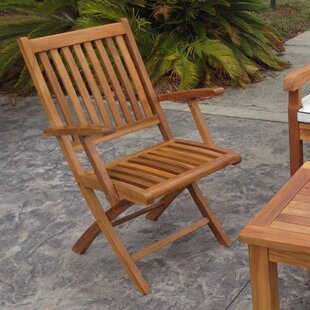 Santa Barbara Folding Patio Dining Chair (Set Of 2)