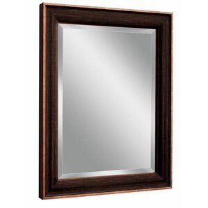Gray Wall Mirror bronze mirrors you'll love | wayfair